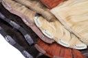 WŁOSY NATURALNE CLIP IN dopinki treski 50cm 6t 80g