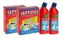SEPTIFOS 2,4kg + 2x Żel WC 2w1 u_nas-NAJTANIEJ