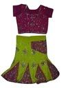 0E- Bluzka + spódnica strój indyjski 92 - 98 cm