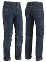 Spodnie Jeans robocze ELASTYCZNE przewiewne XL