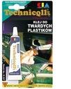 KLEJ DO TWARDYCH PLASTIKÓW 20ml - Technicqll