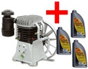 Kompresor Pompa sprężarkowa ABAC B6000 olej GRATIS