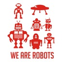 Naklejka na ścianę Roboty, Robot , Dziecięce