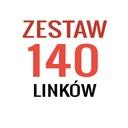 Linki SEO - 140 mocnych linków - POZYCJONOWANIE