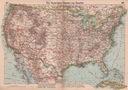 USA STANY ZJEDNOCZONE MAPA 1939 rok ORYGINAŁ