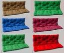 Poduszka na ławkę ogrodową, huśtawkę 120x60x50
