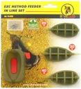3 x koszyk + foremka EXTRA CARP METHOD FEEDER 8132