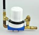 Ciśnieniowy filtr wody z armaturą i zaworem