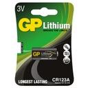 Bateria GP CR123 DL123A EL123 CR123A CR17345 1szt