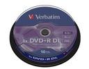 VERBATIM DVD+R DL 8,5GB 8x cake 10 szt. najlepsze!