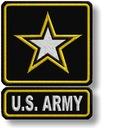 Naszywki Termo US ARMY Haftowane