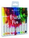 Talens Ecoline Brush Pen Markery 10 kol