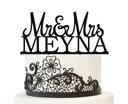 Topper figurka na tort weselny 25cm 7x