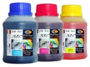 SIC 3x250ml TUSZ kolorowy HP/CANON/LEXMARK Kurier
