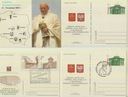 F074 Papież zestaw 20 kartek