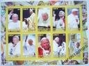 Papież JAN PAWEŁ II  2012 arkusik czysty (**) #177