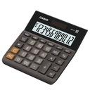 Kalkulator biurowy Casio MH-12BK-S wyświetlacz LCD