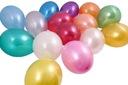 Duże balony metaliczne 30cm GEMAR 100szt BM10/100
