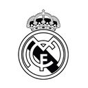 Naklejki FC REAL MADRYT na ścianę 100cm!+ GRATIS!!