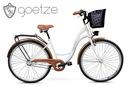 Damski rower miejski GOETZE 28 3biegi kosz gratis!