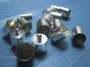 Końcówki do Rzemieni i sznurków - 5,5mm - 6 sztuk