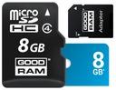 8GB KARTA PAMIĘCI GOODRAM MICRO SDHC + ADAPTER SD