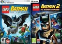 LEGO BATMAN 1+ LEGO BATMAN 2 PL PC GRY NOWE SKLEP