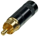 REAN by NEUTRIK NYS352BG złocony WTYK RCA CHINCH