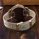 Zegarek damski złoty GENEVA biały cyrkonie Rodzaj analogowe