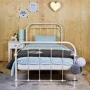 Łóżko metalowe Babunia 120x200 białe Producent