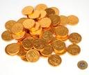 Monety czekoladowe Euro 100 szt