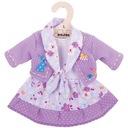 Ubranko dla LALKI z fioletowym sweterkiem BIGJIGS