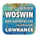 Jezioro Woświn mapa na echosondy Lowrance Simrad