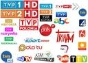 POLSKA MOCNA ANTENA TV POKOJOWA DVB-T FULL HD 45db Kolor biały
