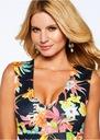 Elegancka Sukienka print w kwiaty 36 S floral Rozmiar 36 (S)