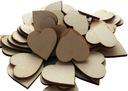 сердца деревянные , сердце 1 ,5 декупаж 100шт