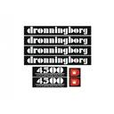 Naklejki oklejenie Dronningborg 4500 Hydrostatic