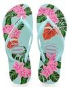 Havaianas Slim Floral 39/40 kolorowe japonki %%%%% Płeć Produkt damski