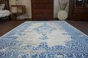 DYWAN VINTAGE 160x230 ROZETA niebieski #B118 Szerokość 160 cm
