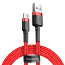Baseus kabel USB-C Typ C Quick Charge 3.0 2A 200cm Zgodność ze standardem Quick Charge 1.0 Quick Charge 2.0 Quick Charge 3.0