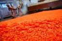 MIĘKKI DYWAN SHAGGY 5cm 100x150 pomarańcz @10640 Kolor odcienie pomarańczowego