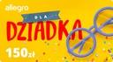 Karta Podarunkowa Dla Dziadka - 150 zł
