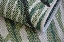 Dywan SIZAL 120x170 JUNGLE LIŚCIE zieleń #B643 Szerokość 120 cm