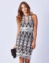 LIPSY ażurowa ołówkowa sukienka w kwiaty 36 S Rozmiar 36 (S)