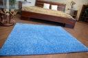 DYWAN SHAGGY 150x200 niebieski 5cm miękki @10241 Długość 200 cm