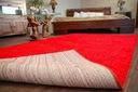DYWAN SHAGGY 70x100 5cm czerwony miękki jednolity Szerokość 70 cm