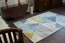 DYWAN NR 200x290 TRÓJKĄTY niebieski żółty #A070 Waga (z opakowaniem) 13.9 kg