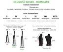 Szelki do spodni BIAŁE 2w1 na guziki GUMA METALIC Rodzaj do spodni