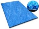 DYWAN SHAGGY 150x200 niebieski 5cm miękki @10241