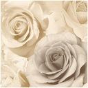 ОБОИ Узор  розочки Бежевые цветы 3D-ЭФФЕКТ UGEPA